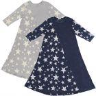 5 Stars Girls Denim Wash Star Print Dress - SB0CP4132D