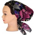 Riqki Womens Dark Blush Pre-Tied Bandana - PTBL1030