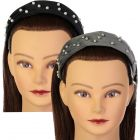 Dazzle Girls Velour Pearl Headband - 7053