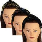 Dazzle Girls Sequin Velour Turban Knot Headband - 7064