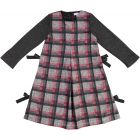 Martino Girls Plaid Cotton Dress - ZQ004