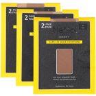 Memoi Womens Satin Sheer 20 Denier Pantyhose 2 Pack - MS-650