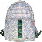 Top Trenz Green Camo Backpack - BP-PUF4 Green Camo