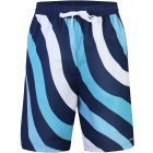 Abstract Boys Wave Design Bathing Suit - 16SP6NW