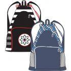 Abstract Waterproof Backpack - SB1-BP