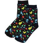 BlinQ Boys Paint Splotch Ankle Socks - 331