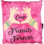 Bunk Junk Camp Friends Forever Friendship Autograph Pillow - BJ924