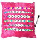 Bunk Junk Friendship Bracelets Autograph Pillow - BJ927