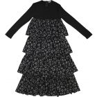 Cindy Couture Girls Leopard Tiered Robe - S0J2303R