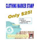 Clothing Marker Stamp