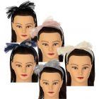 Dacee Girls Tulle Polka Dot Headband - C1342