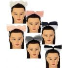 Dacee Girls Two Tone Gauze Bow Headband - C1357