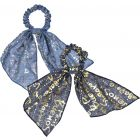 Dacee Words Scrunchy with Tails - SCT1318-WRD