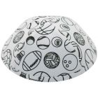 iKippah Boys Color Me Mine Sports Yarmulka