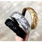 Keshet Girls Metallic Knot Headband - HB630