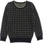 Klai Boys Grid Sweater - G2040