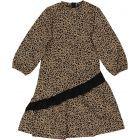MEME Girls Leopard Dress - MB-1015