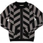 N° 18 Kids Boys Chevron Mock Neck Sweater - WB1CY1635BS