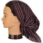 Riqki Womens Rose Stripe Pre-Tied Bandana - PTBL1056