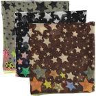 Riqki Open Multicolored Star Israeli Tichel - Y1912