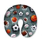 Top Trenz Sports Neck Pillow - NECK-SPRT2