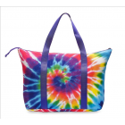 Top Trenz Tie Dye Canvas Tote Bag - TOTE-CANTYD3