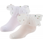 Zubii Girls Colored Stones Ankle Socks - 602