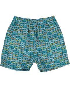 Leo & Zachary Boys Summer Shades Bathing Suit