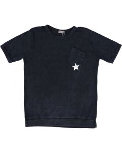 5 Stars Boys Short Sleeve Dress T-Shirt - SA9CP616