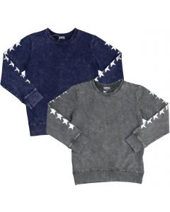 5 Stars Boys Stonewash Star Sweater - WA9CP4113