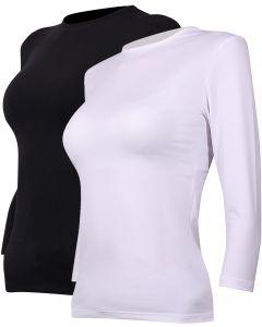 Avanti Womens 3/4 Sleeve Milk Silk Modal Shell - 34MLKRGA