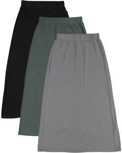 BGDK Girls Long Ribbed Skirt - BK-JH252