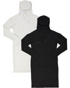 BGDK Womans Hoodie Cotton Dress - BK-SA601