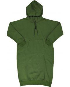 C.C.I. & Co. Womens Olive Sweatshirt Dress