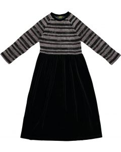 Cindy Couture Girls Robe with Stripe Chenille Top - WA9CY1035R