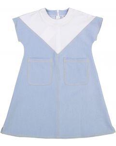 Crew Kids Girls Denim Pocket Dress - AL1909