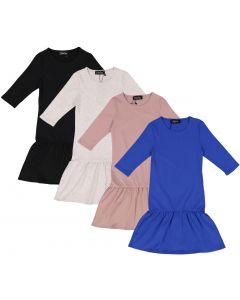 Delore Girls Cotton Dress - DE-C122
