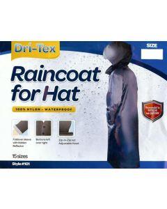Dri-Tex - Mens Black Raincoat