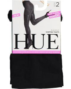 HUE Womens Blackout Shaping Tights - U17259