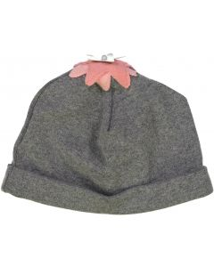 Hugababy Baby Girls Hat with Felt Flower Applique - WA8CP309HG