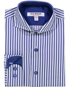 Isaac Mizrahi Boys Long Sleeve Dress Shirt - SH9530