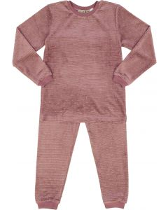 Little Paw Girls Velour Studded Pajamas - WA9CY1075P