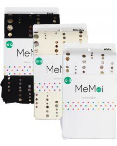 Memoi Girls Printed Retro Dot Tights - MKF-4015