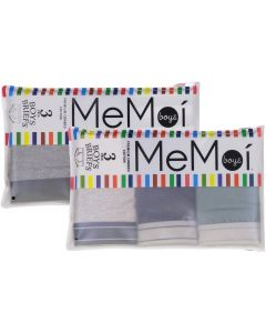 Memoi Boys Boxer Briefs 3 Pack - MKU1013