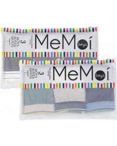 Memoi Boys Boxer Briefs 3 Pack - MKU1015
