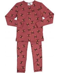 Milk Girls Gold Star Cotton Pajamas - WA9CP4014