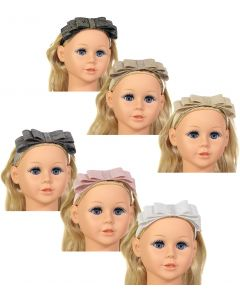 Riqki Baby Girls Metallic Linen Headband - HB2005B