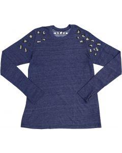 So Nikki Womens Long Sleeve T-shirt - 1067J-P672A-SHLDRS
