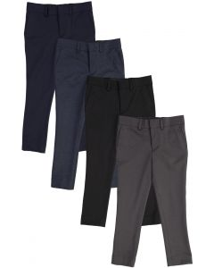 T.O. Collection Boys Skinny Fit Stretch Dress Pants - 9131