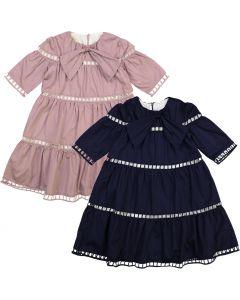 Teela Girls Lora Eyelet Dress - SB10-01